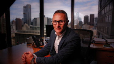"Greens leader Richard Di Natale wants Labor and the Greens to ""work co-operatively together""."