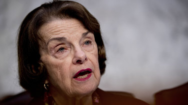 'There is no deep state': Ranking Member Dianne Feinstein.