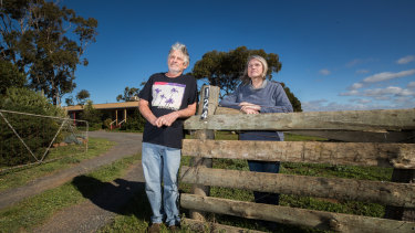 Bob and Christine Levy live very close to Maddingley Brown Coal, a landfill where soil contaminated with PFAS from the West Gate Tunnel will likely get dumped.