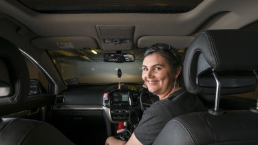 """There are tips and tricks for everybody to what hours they do,"" says Jodie, who drives an Uber for up to 30 hours a week."
