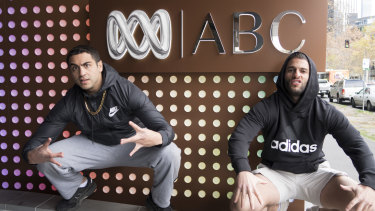 'Superwog' brothers Theo and Nathan Saidden are developing a six-part comedy for ABC.