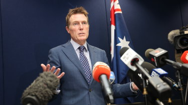 Attorney-General Christian Porter denied all allegations on Wednesday.