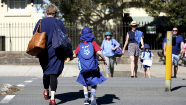 Teachers are struggling to keep children apart in crowded classrooms.