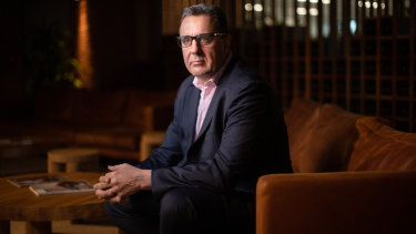 Treasury Wine Estates chief executive Tim Ford.