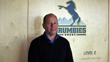New Brumbies general manager of high performance Chris Tindall.