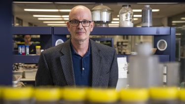 Sydney University virologist Professor Edward Holmes.