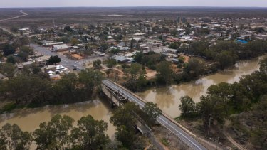 One in seven people in Wilcannia have tested positive to COVID-19.