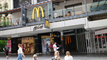 The McDonald's store at Brisbane's Queen Street Mall is one of the stores owned by the franchisee, Tantex.