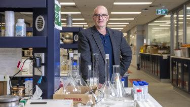 NSW Scientist of the Year Professor Edward Holmes.