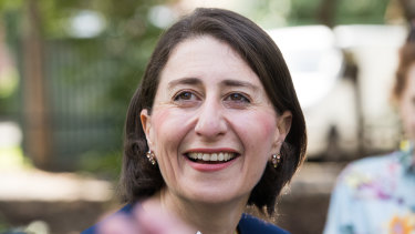 Shaking things up: Newly-elected NSW Premier Gladys Berejiklian.