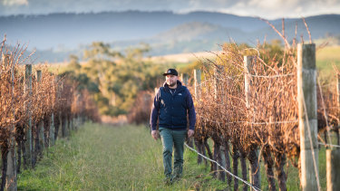 Rod Micallef from Zonzo Estate in the Yarra Valley.