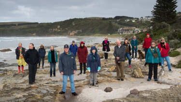 Residents of Cape Bridgewater are angry about plans for an eco-resort planned for their tiny seaside town.