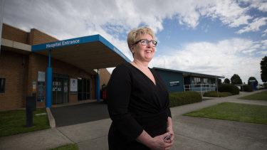 Colac Area Health chief executive Fiona Brew.