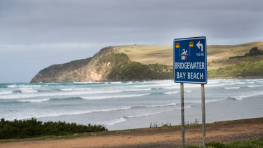 The bay at Cape Bridgewater