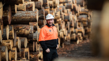 AKD Softwoods chief executive Shane Vicary who led the community response to coronavirus infections in Colac.