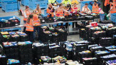 About 1.4 million people are relying on foodbanks in Australia as a result of the coronavirus recession.