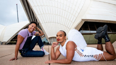 Callum Francis and Seann Miley Moore will star in Rent at the Sydney Opera House.
