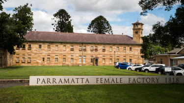Parramatta Female Factory precinct.