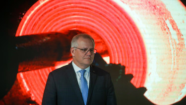 Prime Minister Scott Morrison says Australia can achieve net zero emissions by 2050 without having the target set in stone.