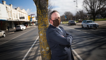 Colac Otway Shire mayor Jason Schram called for tougher restrictions to curb the spread of the virus in Colac.