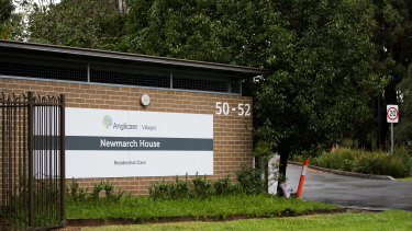 Anglicare Newmarch House in Caddens.