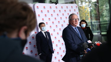 NSW Health Minister Brad Hazzard says an increasing number of older Australians were reluctant to have the AstraZeneca vaccine.