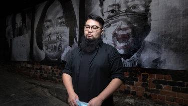 Chinese-Australian artist Badiucao.