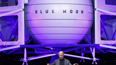 Jeff Bezos sold shares to fund Blue Origin projects.