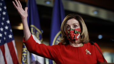 """Nancy Pelosi: """"This emergency relief bill is an important initial step."""""""