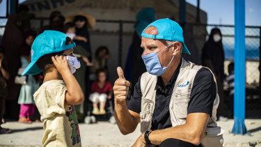 Bo Viktor Nylund,UNICEF Representative in Syria.