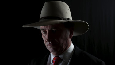 'Winston Churchill had his black dog: mine was a half-crazed cattle dog, biting everything that came near the yard': Barnaby Joyce