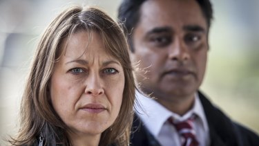 Nicola Walker and Sanjeev Bhaskar star in Unforgotten.