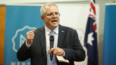 New Prime Minister Scott Morrison