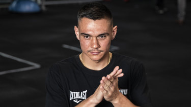 'I'm coming for the knockout': Tim Tszyu.
