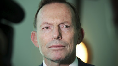 Former Prime Minister Tony Abbott has threatened to cross the floor over the NEG legislation.