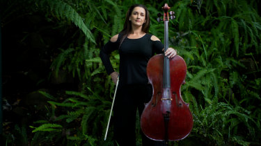 Cellist Michelle Wood will perform when the Melbourne Symphony Orchestra returns to the stage in 2021.