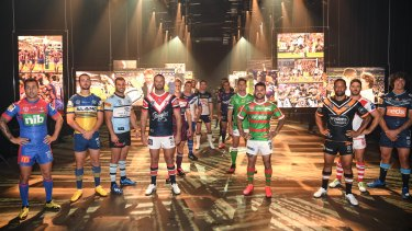 The 2020 NRL season launch in March.