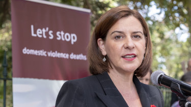 Opposition Leader Deb Frecklington says the Galaxy Poll shows Queenslander believe the government has lied on the Hospital name change issue.