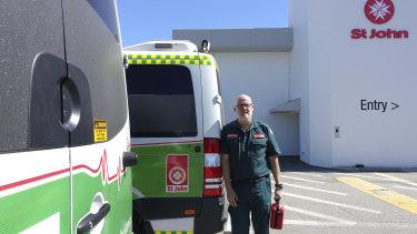 St John Ambulance Director of Clinical Medicine Paul Bailey.