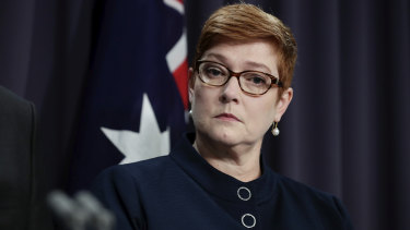 NSW minister Stuart Ayres is married to Foreign Minister Marise Payne.
