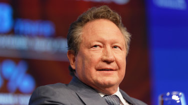 Andrew Forrest's Fortescue is among companies seeking to reduce carbon emissions.