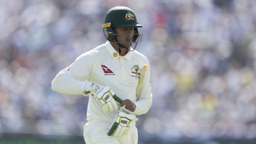 Usman Khawaja lost his place during the Ashes.