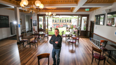 Glenferrie Hotel owner Mark O'Reilly.