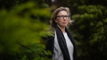 Rosie Batty, at home in Tyabb on Friday, has opened up about grief, pain and resilience for a new podcast to support those struggling with isolation.