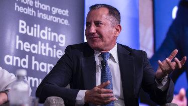 BOQ chief executive George Frazis in January.