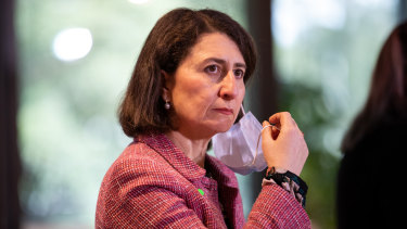 NSW Premier Gladys Berejiklian again stressed that the focus should not be on case numbers as the state reported 1218 new cases.