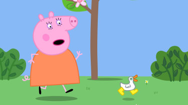 Peppa Pig: agent of chaos.