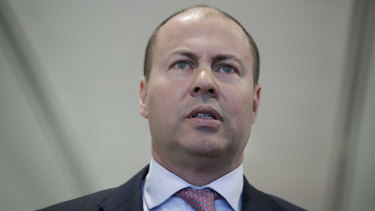 "Treasurer Josh Frydenberg: ""This is not about providing tax breaks for companies to do what they will be doing anyway, but rather putting the right settings in place to enable them to go a step further and back themselves to grow."""