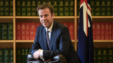 Education Minister Dan Tehan has raised concerns about the English language standards of international students.