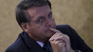 """Trump is not the most important person in the world"""": Brazilian President Jair Bolsonaro."""